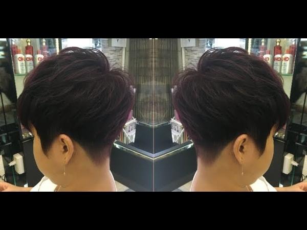 Toàn cảnh kỹ thuật cắt tóc Tomboy đẹp độc của Nguyễn Duy