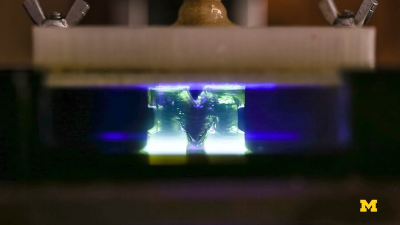 3D printing 100 times faster with resin
