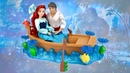 Ariel and Eric Kiss the Girl Doll Gift set from The Little Mermaid Unboxing Review