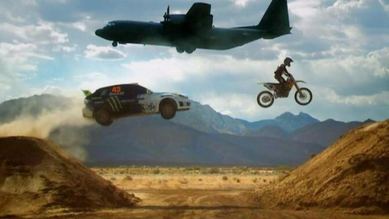 Top Gear - Ken Block прокатил Капитана Улитку