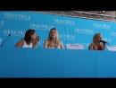 Пресс конференция Галвестона на кинофестивале в Довиле 01 09 2018