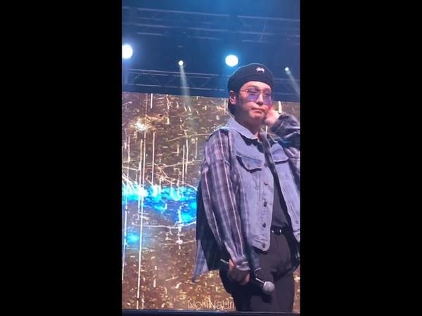 [Fancam] 10.11.18 B.A.P Good Bye (Himchan focus) @ 2018 B.A.P. North America Tour FOREVER - Индио