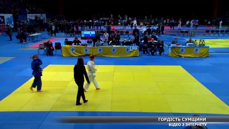 Золото на Всеукраїнських «Combat games» здобула сумчанка