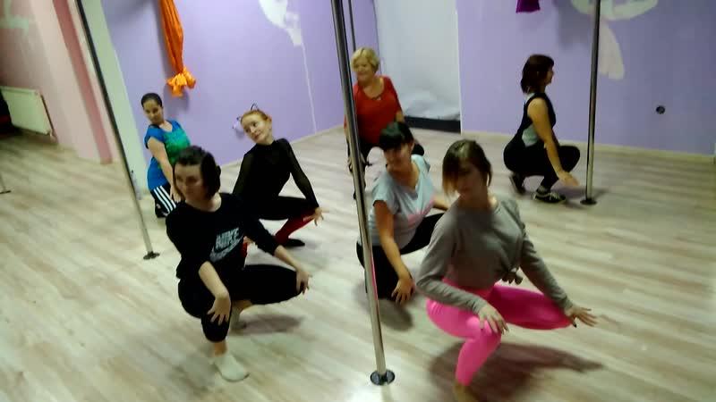 Современная/эстрадная хореографиястрип-пластика для взрослых (от 16 лет). Первое занятие. Тренер Богдана Зимзе