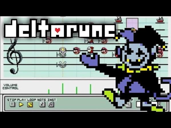 Mario Paint - Deltarune - THE WORLD REVOLVING (Jevil's theme)