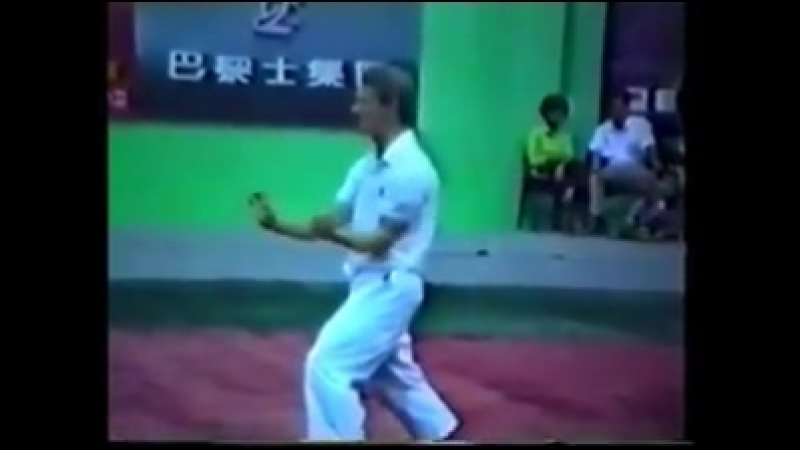 Sifu Simon Lailey Sanzhan Fuzhous Golden Lion boxing
