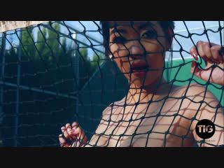 Reina asian model ftness striptease naked erotica