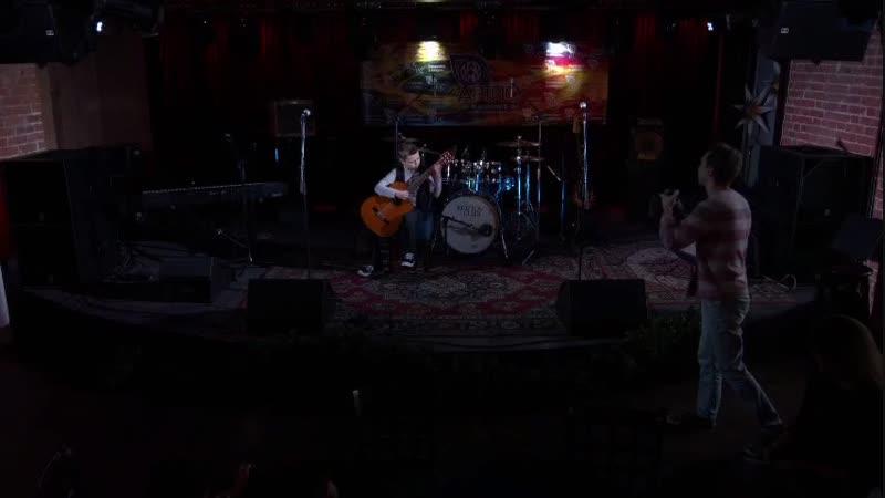 Выступление Глеба Булгакова на отчетном концерте школы музыки Артис