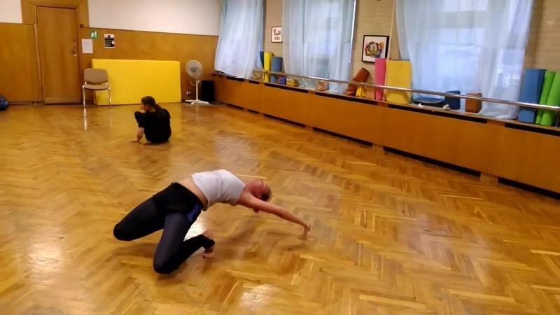 Современная хореография - педагог Косолапова Татьяна, студия движения Шаги, Казань