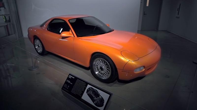 The Original Mazda RX7 Prototype Body Shell оригинальный прототип формы RX7 FD