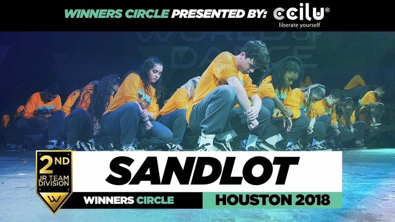 Sandlot | 2nd Place Jr Division | Winners Circle | World of Dance Houston 2018 | WODHTOWN18 | Danceproject.info