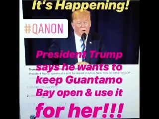 President Trump said at a fundraiser in New York last night that he wants to keep Guantana.mp4