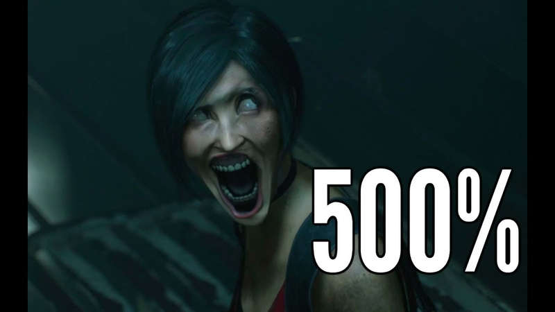 Resident Evil 2 kiss but 500% facial animations 3