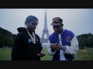 A$AP Rocky и Tyler, the Creator флексят под Тейпа