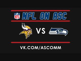 NFL   Vikings VS Seahawks