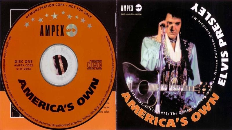 ELVIS PRESLEY - AMERICAS OWN JULY 19 1975 CD 1