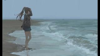 Monika: Rainy Day (With BGM) - Wallpaper Engine
