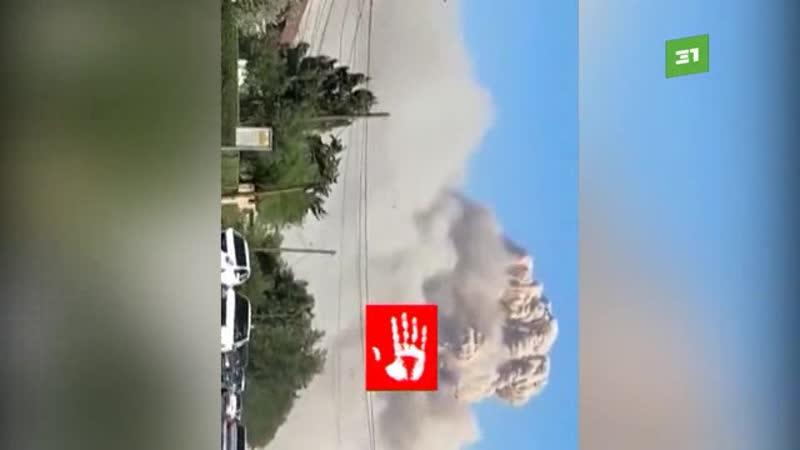 Боеприпасы взорвались на военном складе в городе Арысь. Около 30 человек пострадали