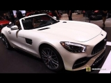 2018 Mercedes AMG GT C Roadster - Exterior and Interior Walkaround - 2018 New York Auto Show