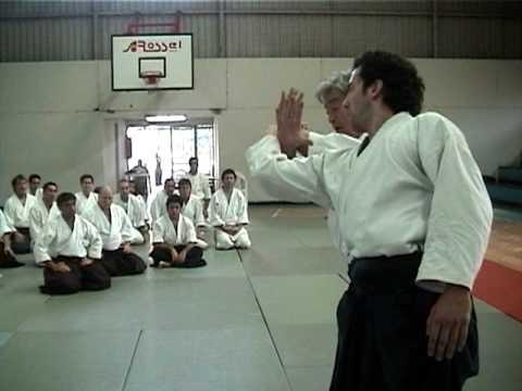 Aikido Sensei Yoshimitsu Yamada Shihan - 2005 Chile, Santiago - Katatetori Iriminage 1
