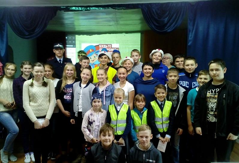 В г. Макушино прошла деловая игра для школьников «Дорожный марафон»