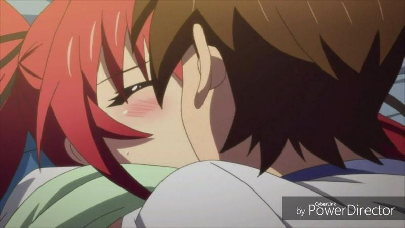 Anime.webm High School DxD Shinmai Maou  Kiss X Sis Shomin Sample Strike the Blood  Maken-ki High School of The Dead
