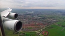 STUNNING KLM Boeing 747-400 APPROACH and LANDING at Amsterdam Schiphol Airport (AMS)!