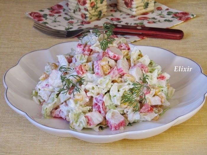 Салат с пекинской капустой: самые вкусные рецепты c курицей, ветчиной, крабовыми палочками