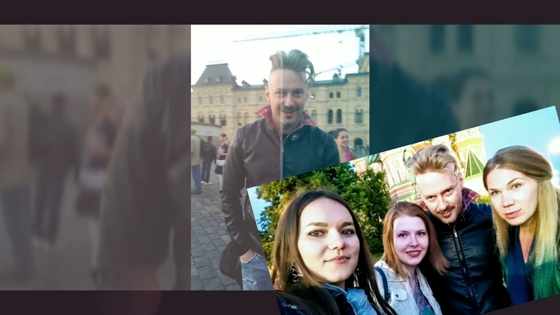 KUZNO family alla piazza Rossa a Mosca