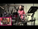11 year old girl drummer Kanade Sato Hit Like A Girl 2014 Entry Amazing