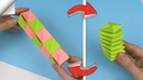 4 DIY crafts easy | Paper toy antistress transformer