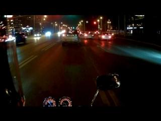 Honda CB 400 ночная катка 2