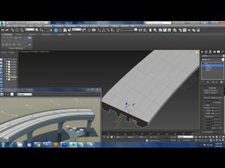 Tutorial on modeling a highway road bridge in 3dsmax