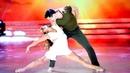 Lourdes Sánchez y Diego Ramos bailaron La Incondicional de Luis Miguel