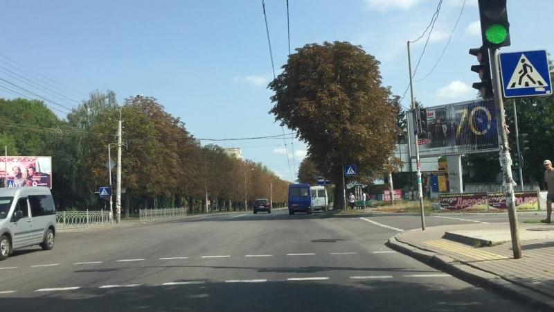 Як доїхати (дорога від ТРЦ Чайка до рейву Трансільванія 5.1)