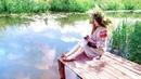 Зов предков. Belarusian girl in national clothes.