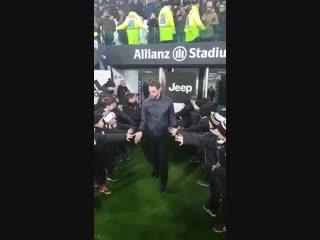 Клаудио Маркизио побывал на матче «Юве» - «Рома»