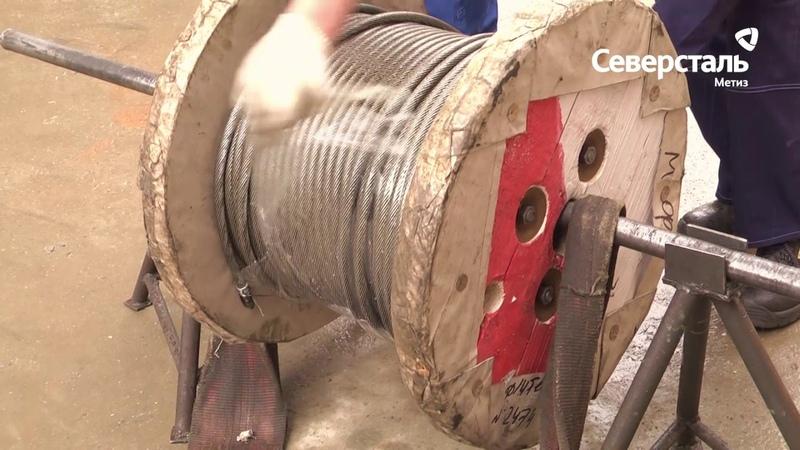 Северсталь подъемные технологии: Навеска каната на кран. Инструкция