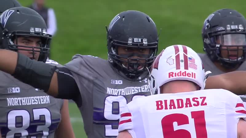 NCAAF 2018 Week 09 20 Wisconsin Badgers Northwestern Wildcats EN