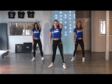 Saskias Dansschool. Easy Fitness Dance Choreography. Baile. Coreo. Meghan Trainor - No Excuses