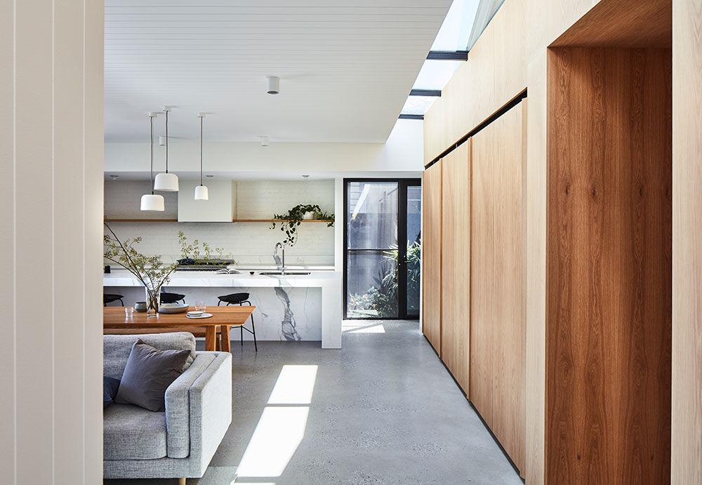 Лёгкий и воздушный дизайн для современного дома в Австралии