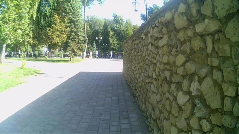 Струковский сад и фрагмент фестиваля Распусти свои клеши.