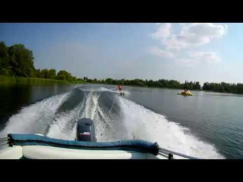 Лето, Липецк, лыжи и Sunbird Saturn-170