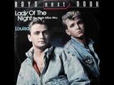Boys Next Door - Lady Of The Night (Radio Version)