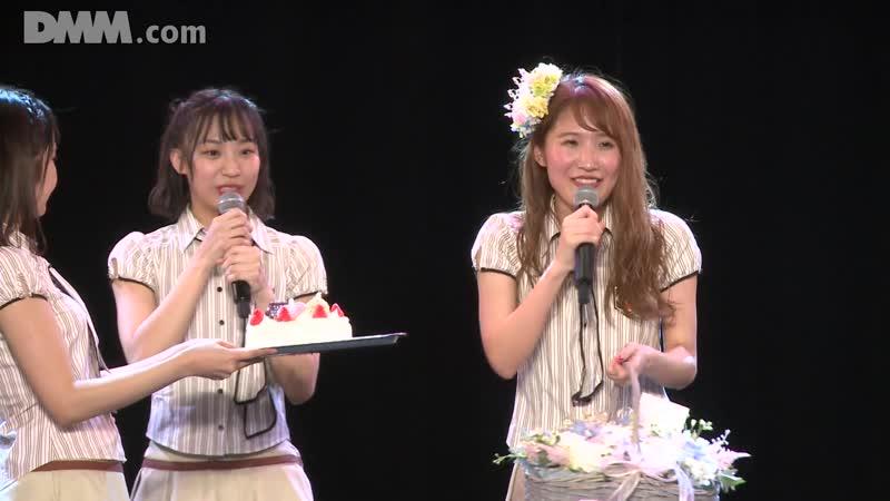 SKE48 Team KII 6th Stage Saishuu Bell ga Naru День рождения Учиямы Микото 2018 11 15 часть 2