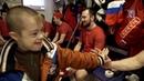 Дети с Синдромом Дауна на открытой тренировке Сборной России по хоккею