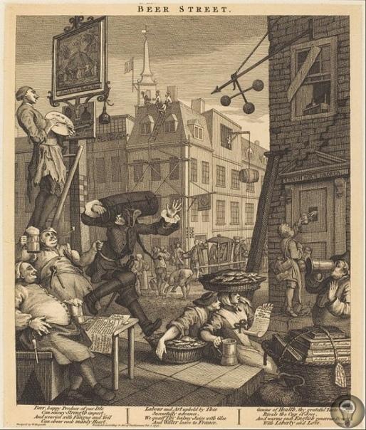 ЭПИДЕМИЯ ДЖИНА: КАК ЛОНДОН ЧУТЬ НЕ ПОГУБИЛ ДЕШЕВЫЙ АЛКОГОЛЬ В XVIII веке бухло чуть не погубило Лондон и всю Англию. Дешевый, почти бесплатный джин лился рекой, затопив городское дно. Люди