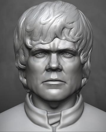 Tyrion Lannister Zbrush Timelapse