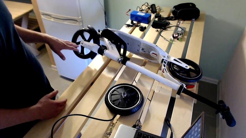 Обычный самокат в электросамокат за 2 часа переделать своими руками