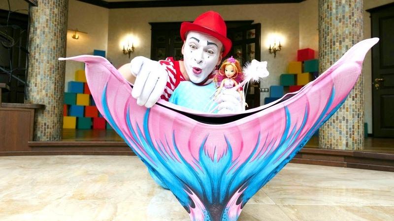 Video divertenti con giocattoli. Sirenetta crea una magia. Nuovi episodi